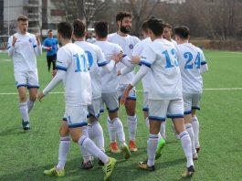 Vis de București - Bucharest United 1-7 / Deschidere de scor